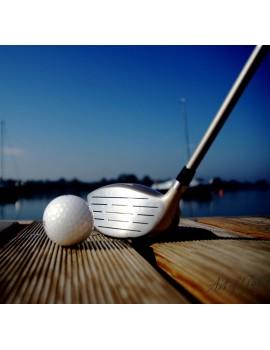 """Obraz na płótnie """"Golf Ball &Driver"""""""