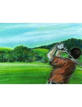 "Obraz  ""Golfista"""