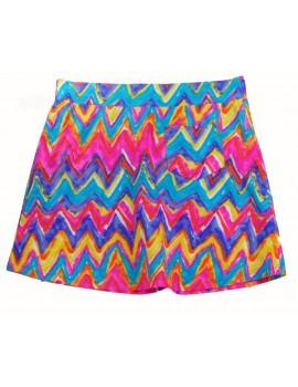 Spódnica Różowo-fioletowa - L