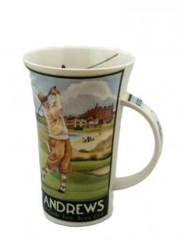 Kubek Vintage Golf Porcelanowy