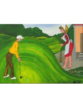 "Obraz słowacki ""Golf 6"""