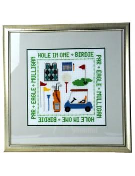 Obraz haftowany Golf