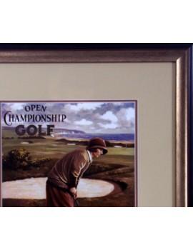 Golf retro brąś