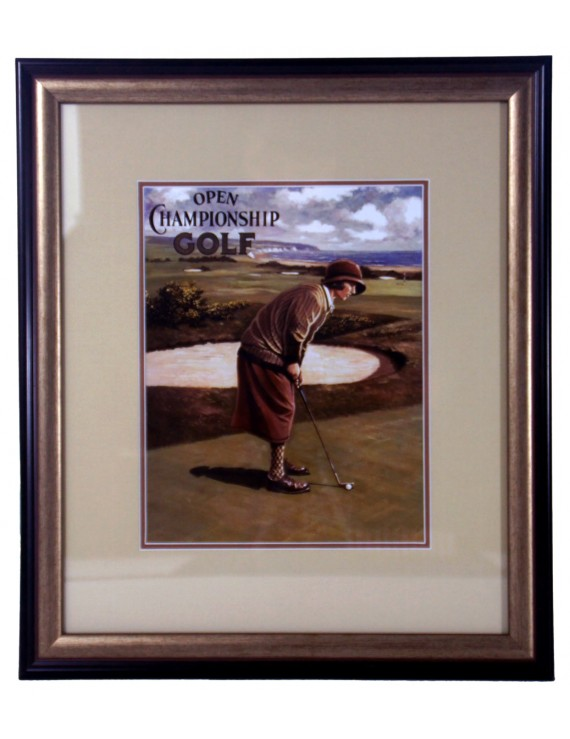 Golf retro brąz