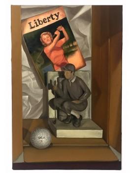 """Obraz """"Liberty of Golf"""""""