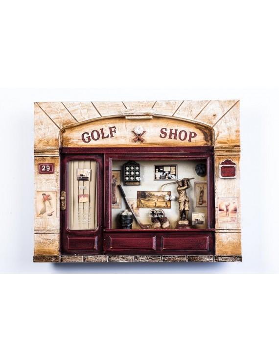 Obraz przestrzenny golf