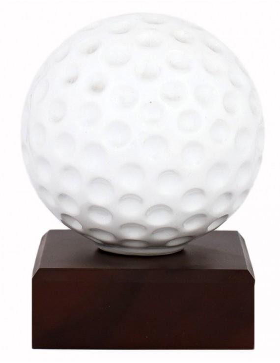 Statuetka golfowa torba