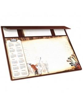Kalendarz na biurko 2018 plus notatnik
