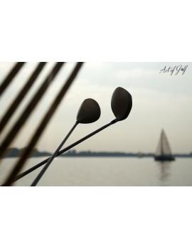 """Obraz na płótnie """"Sailing & Golfing"""""""
