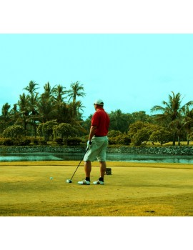 Obraz na płótnie Golf