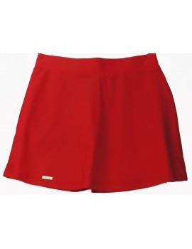 Spódnica czerwona -M