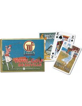 """Karty do gry """"GD"""" Kobiecy Golf"""