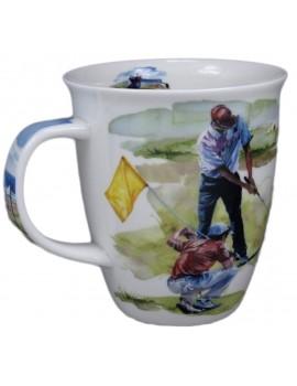 """Kubek"""" Golfista  w akcji """"porcelanowy"""