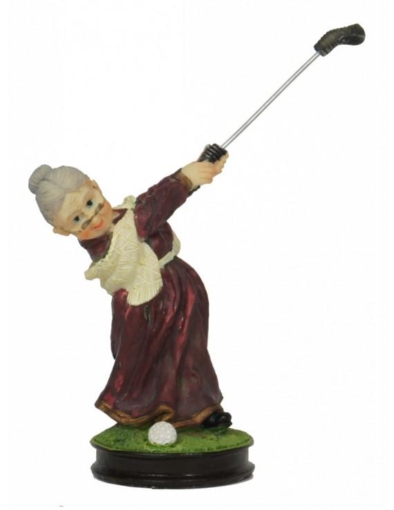 Figurka Babci Golfistki